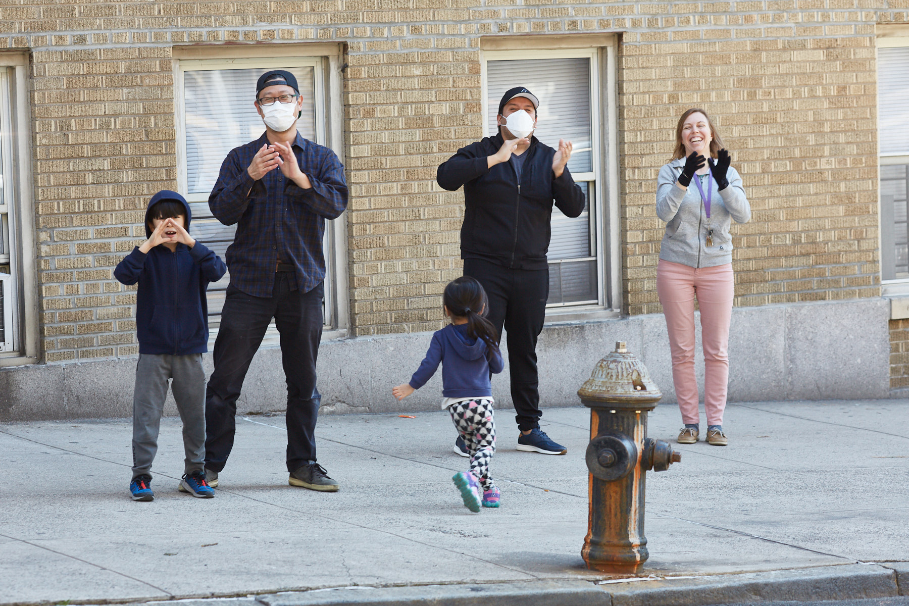 clap because we care NYC for medical staff during coronavirus