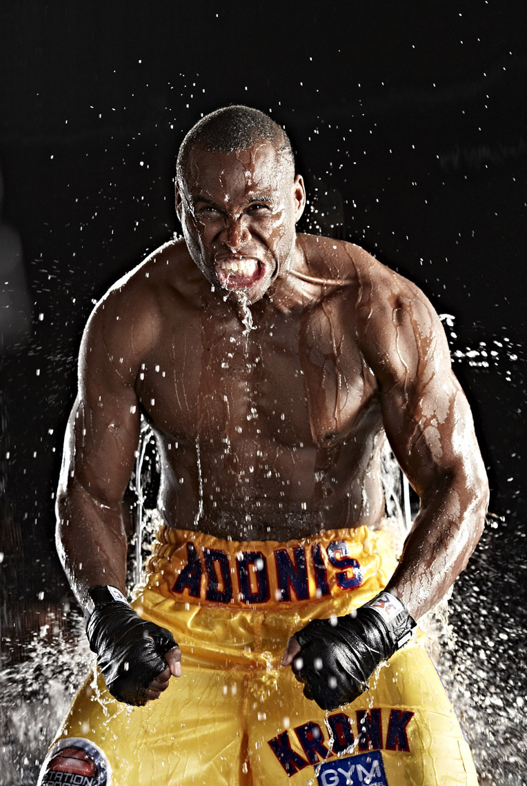 Adonis Stevenson for HBO Boxing photo by Monte Isom