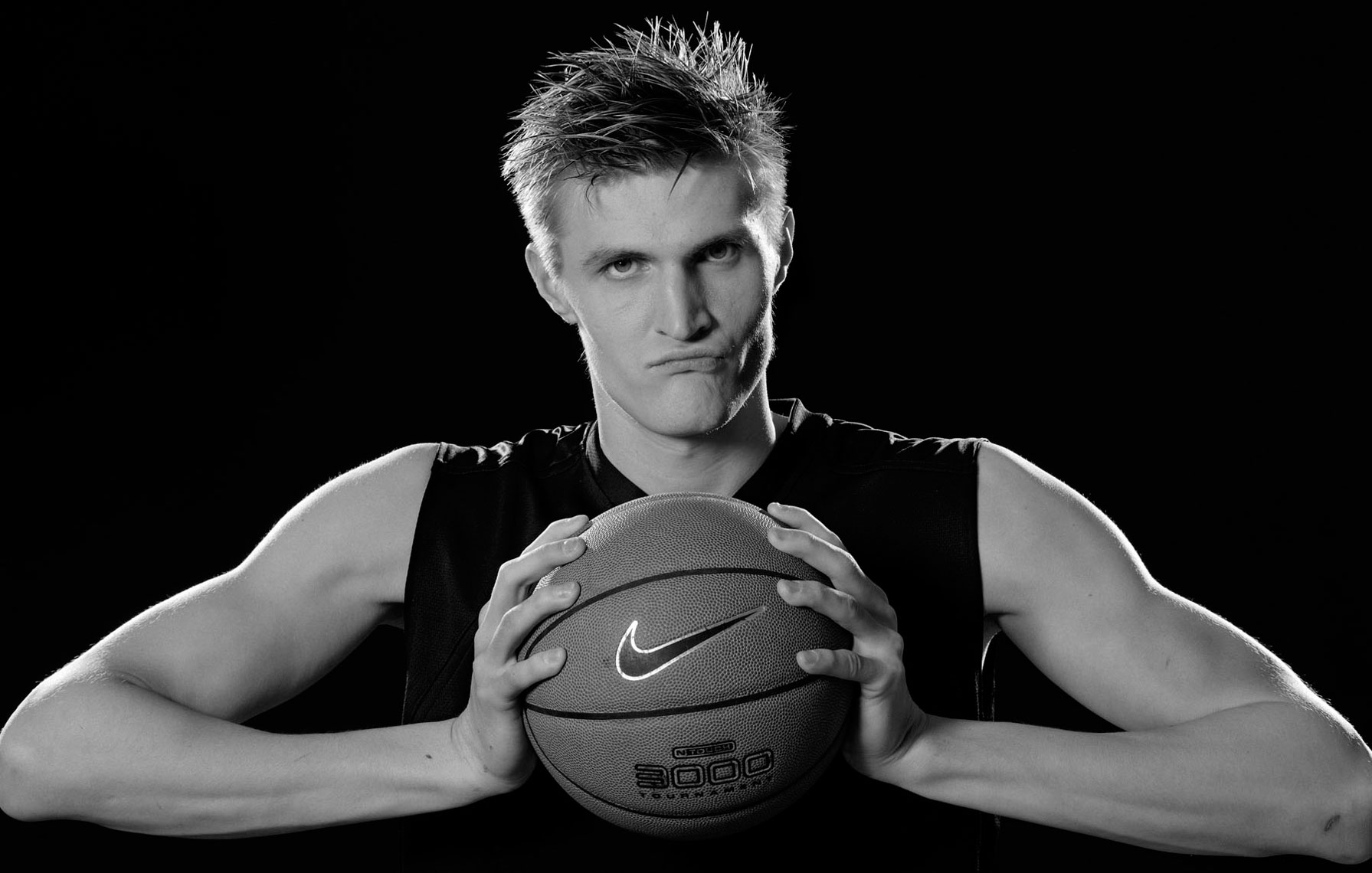 Nike advertising Andrei Kirilenko basketball photo by monte isom