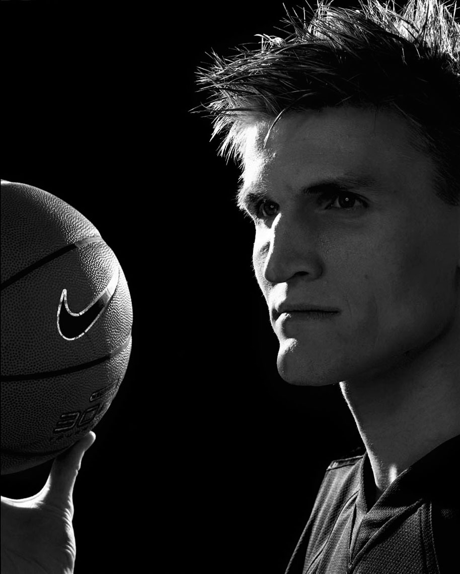 Campaign for Nike with Andrei Kirilenko photo by monte isom