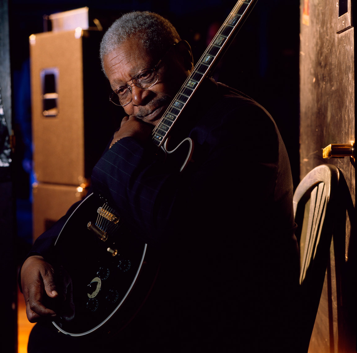 BB KIng and Lucille photo by Monte Isom