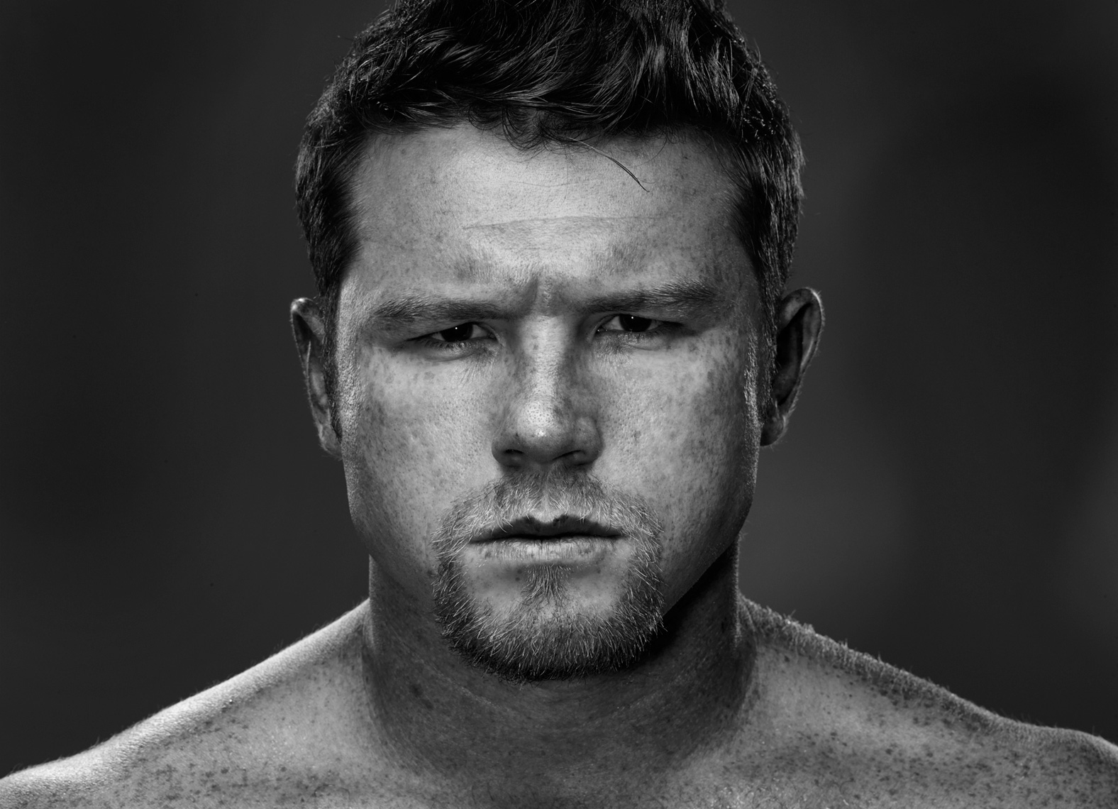 Canelo Alvarez for HBO Boxing photo by Monte Isom
