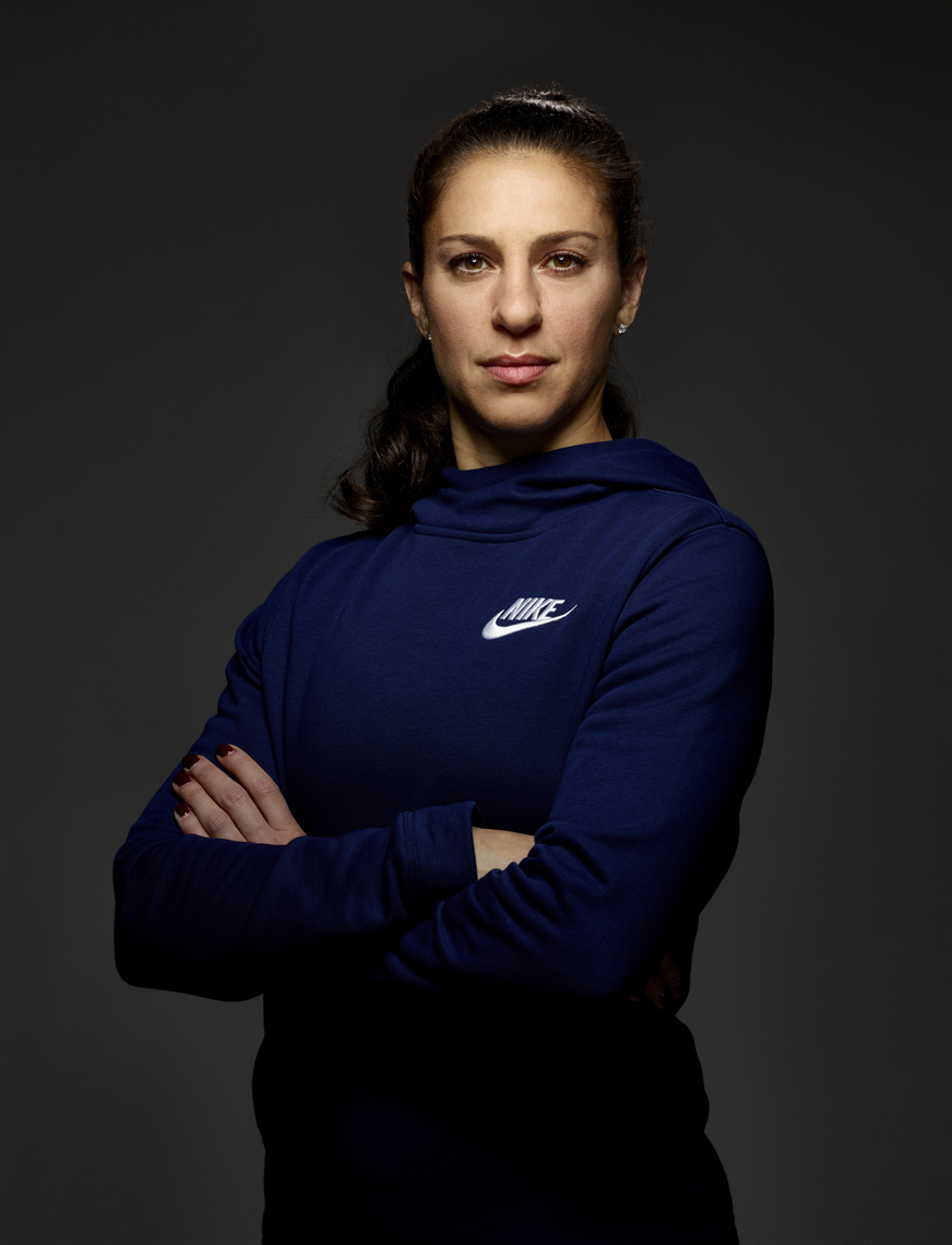Carli Lloyd soccer player for USWNT photo by Monte Isom #CarliiLloyd #Carli Lloyd