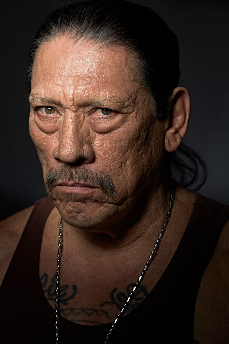 Danny Trejo photo by entertainment photographer Monte Isom
