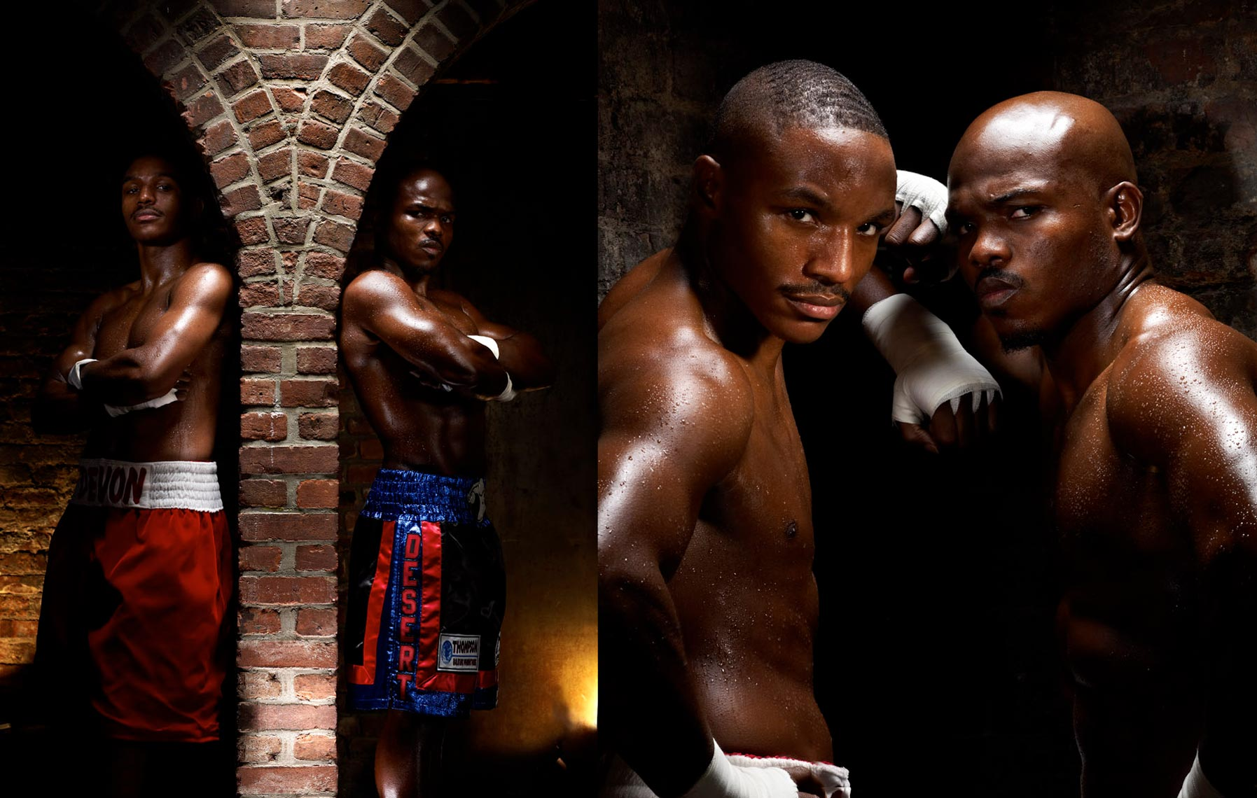 Devon Alexander Timothy Bradley photo by Monte Isom