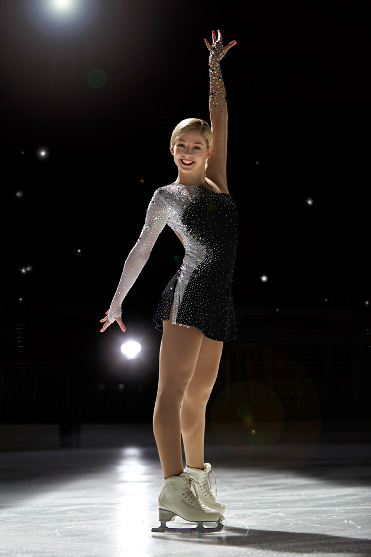 Gracie Gold USA Olympic Figure skater photo by Monte Isom