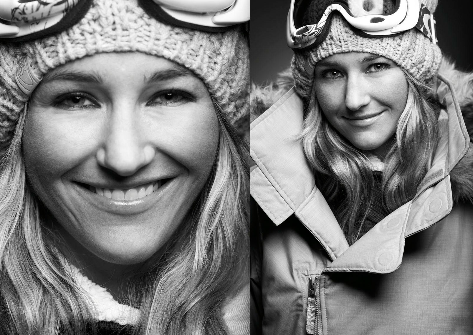 Gretchen Bleiler  US Halfpipe  Snowboarder Photo by Monte Isom