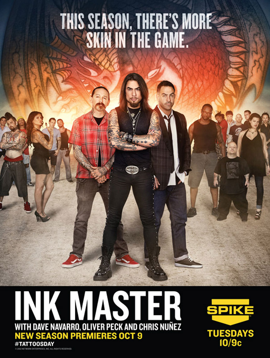 Ink Master Season 2 poster Dave Navarro photo by Monte Isom