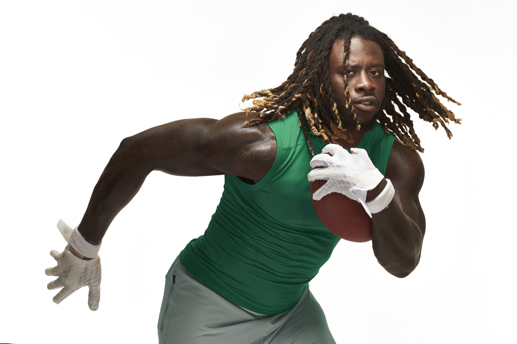 Jay Ajayi of Philadelphia Eagles photo by Monte Isom