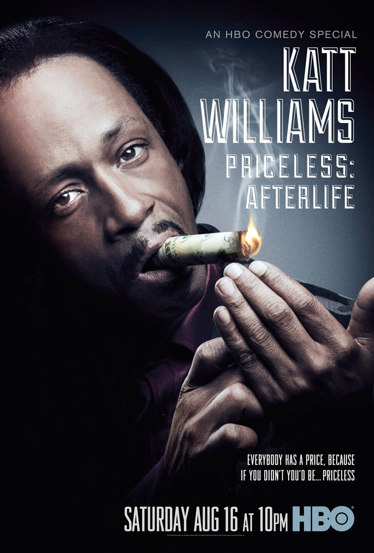 Katt Williams Priceless poster for HBO photo by Monte Isom