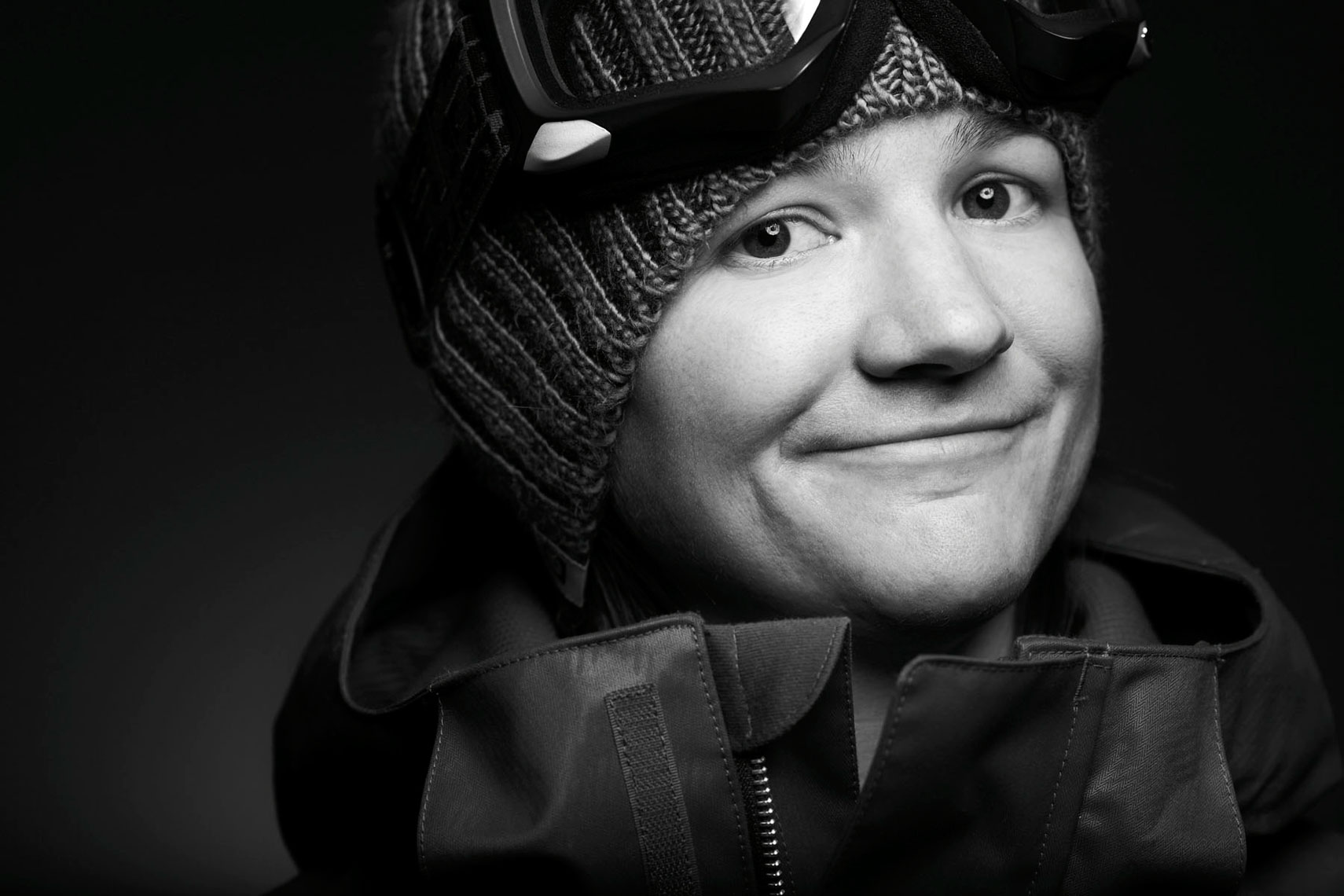 Kelly Clark US Halfpipe Snowboarder Photo by Monte Isom
