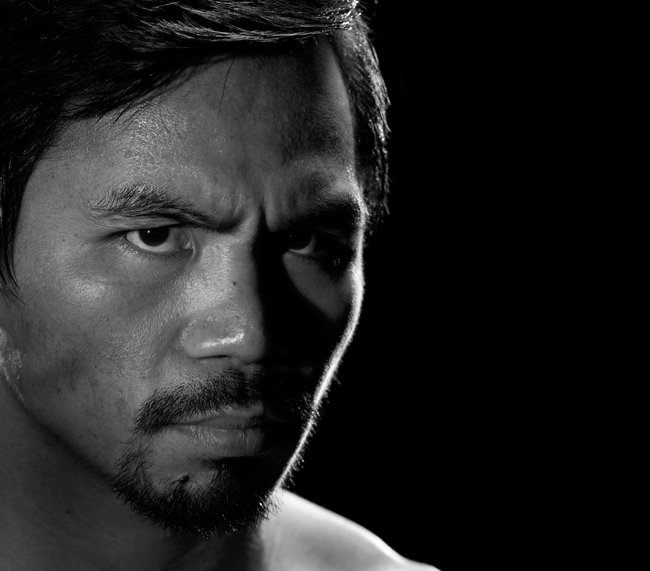 Manny Pacquiao portrait by Monte Isom
