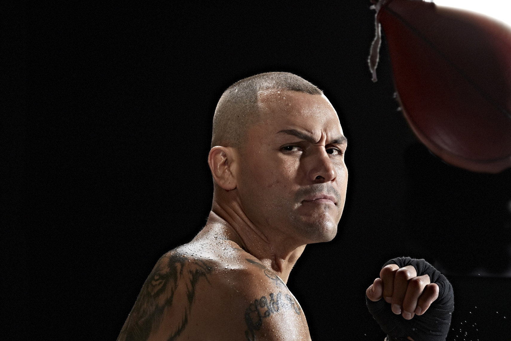 Mike Alvarado for HBO Boxing photo by Monte Isom