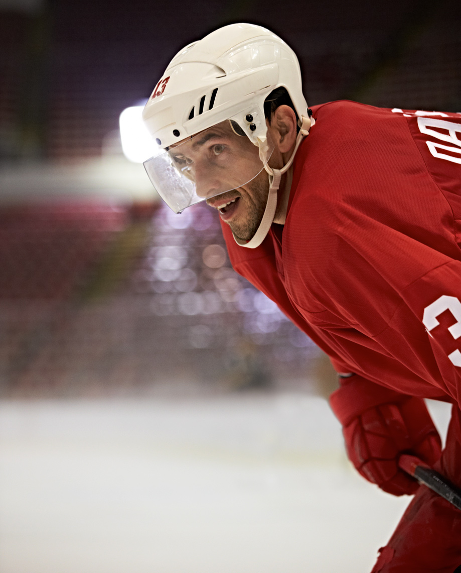 Pavel Datsyuk Russian Hockey for VISA photo by Monte Isom