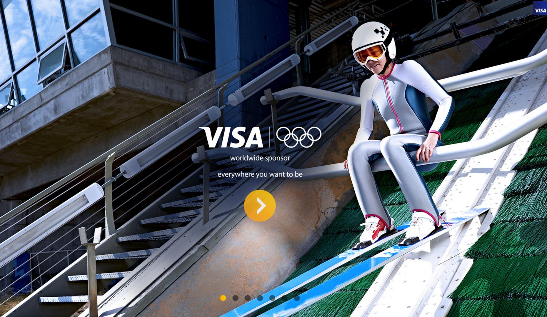Sarah Hendrickson US Ski Jumper for VISA photo Monte Isom