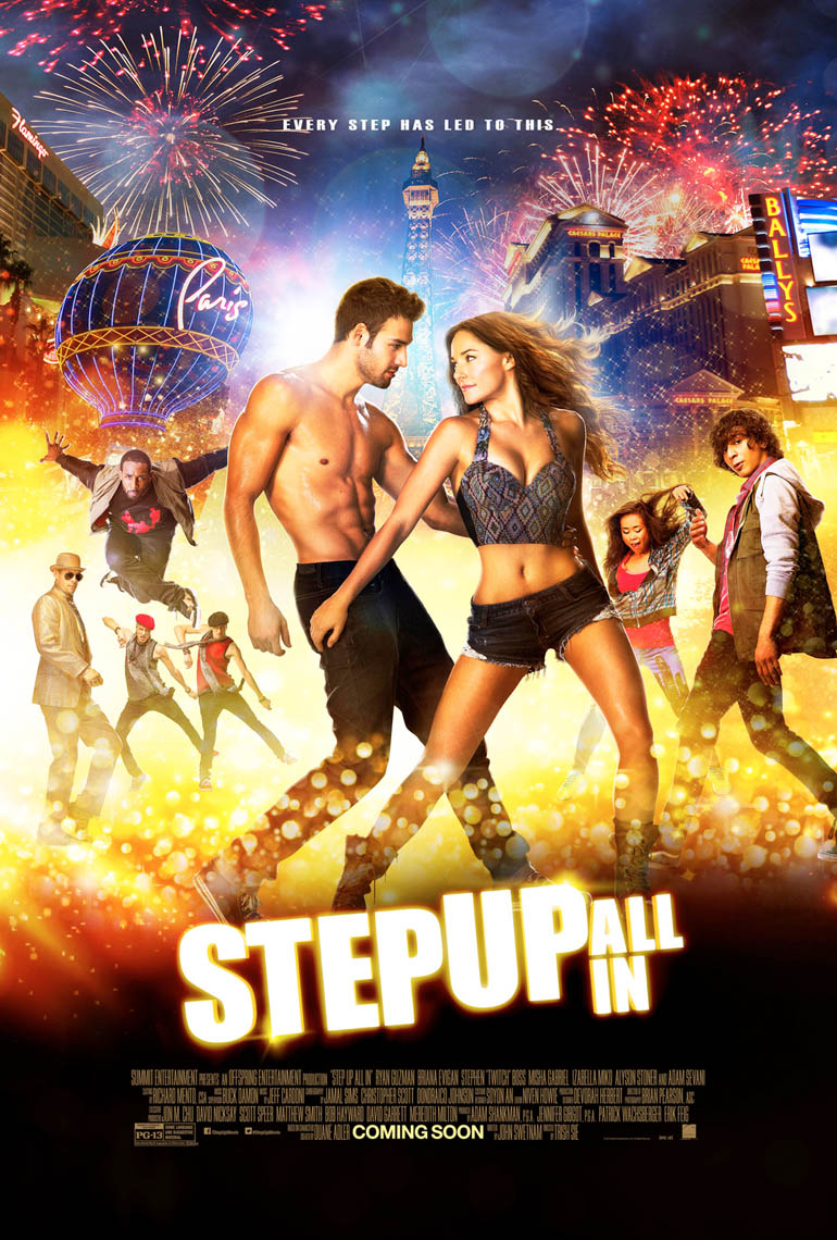 Step Up All In international movie poster photo by Monte Isom