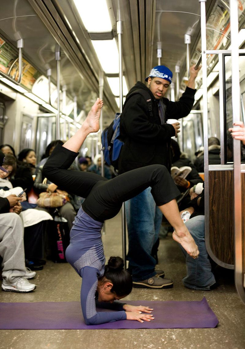 Subway Yoga photo by monte isom