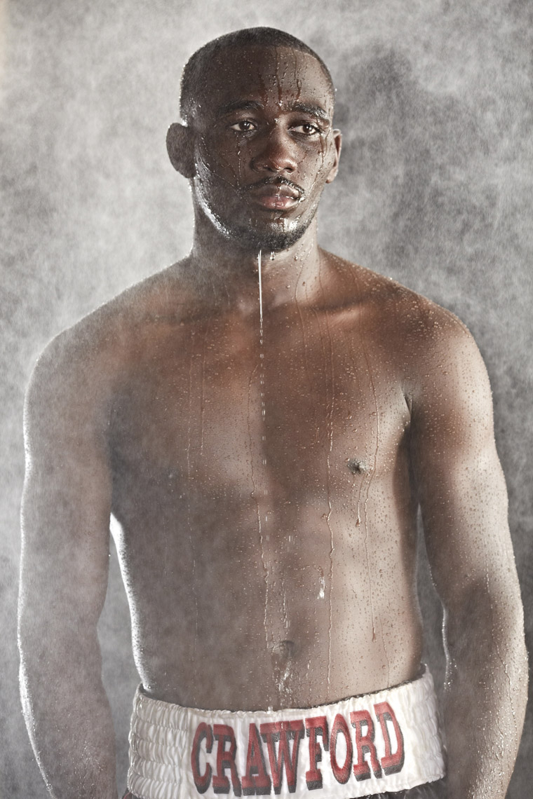 Terrence Crawford for HBO. Photo by Monte Isom