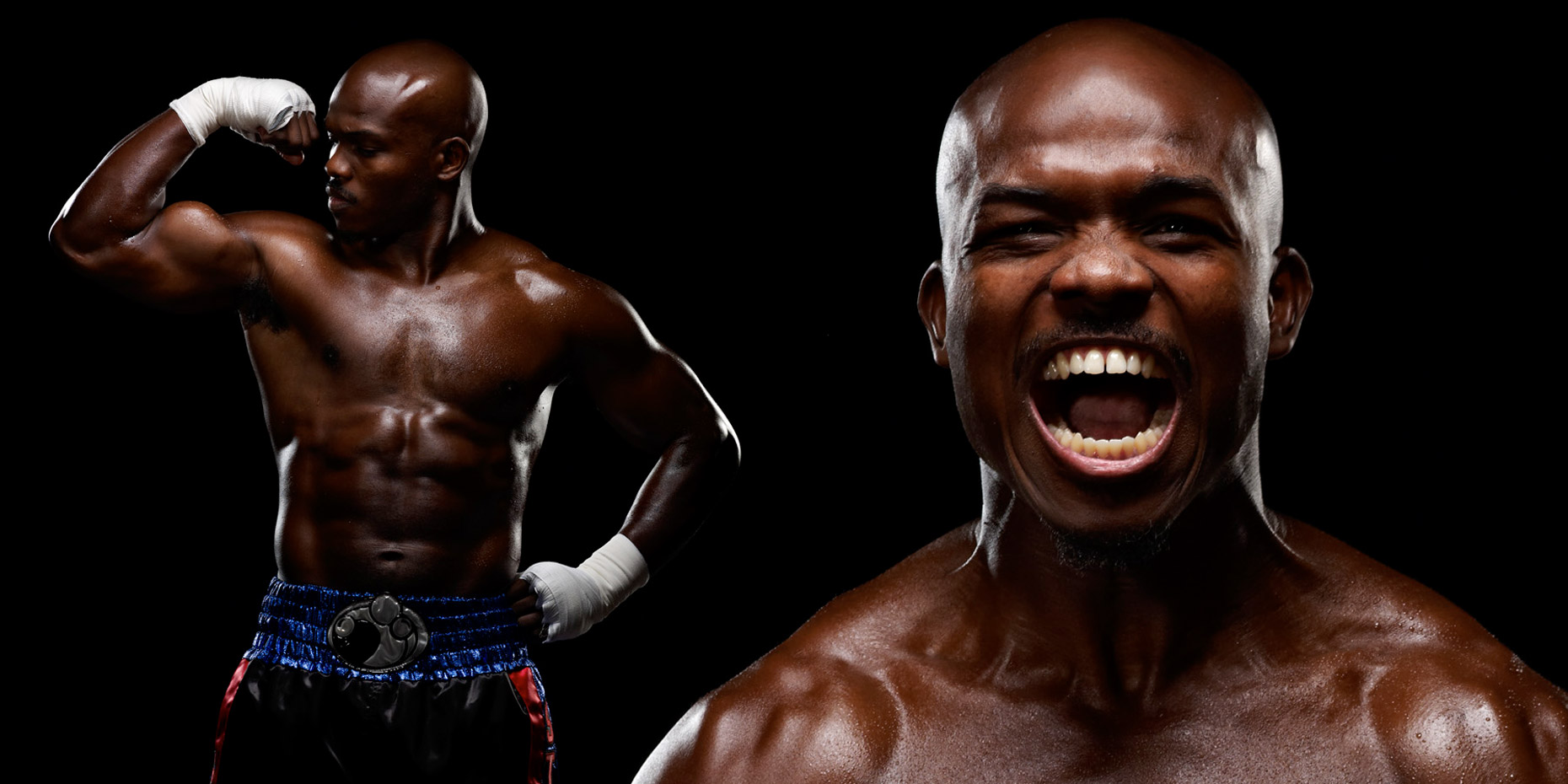 world champion Timothy Bradley for HBO Photo by Monte Isom